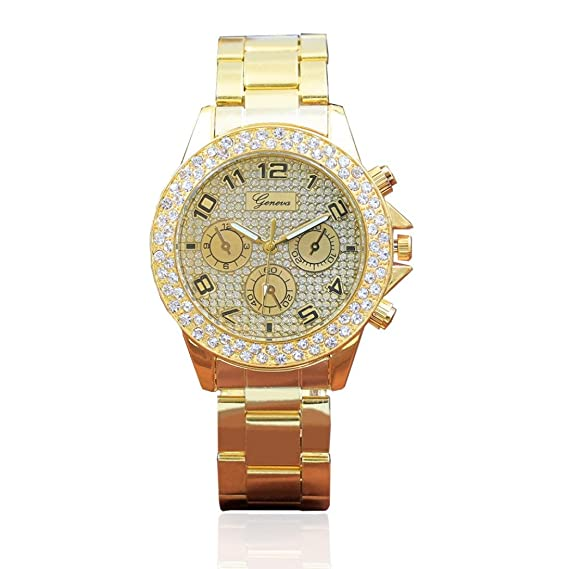 Womens Geneva Quartz Watches Beautytop Womens Diamond Wrist Watches
