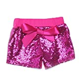 Baby Girls Shorts Sparkle Toddler Sequin Shorts Glitter Birthday Outfits