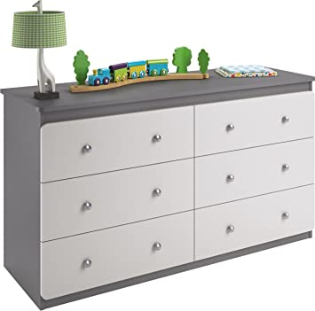 crafts paris paint and street white dresser grey chalk gray canary decoupage