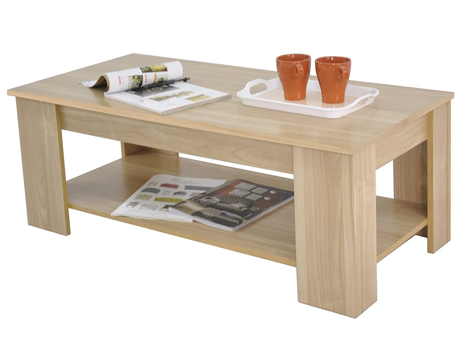 lift top coffee table with storage. Right Deals UK Kimberly Lift Up Top Coffee Table Storage \u0026 Shelf - Choice Colour (Walnut): Amazon.co.uk: Kitchen Home With M