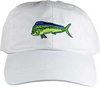 product image for Maine Made Belted Cow DolphinFish Design White Hat for Men and Women