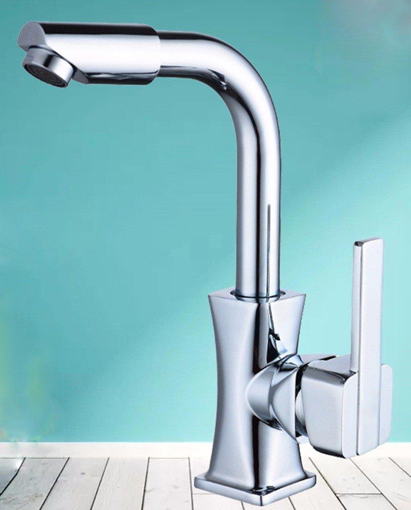Hlluya Wasserhahn für für für Waschbecken Küche Edelstahl heiß und kalt und Das Waschbecken Wasserhahn Serie L 5e1f8b