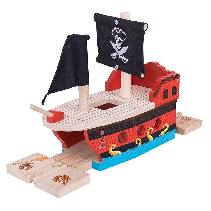 2 opinioni per Bigjigs Rail Galeone dei pirati