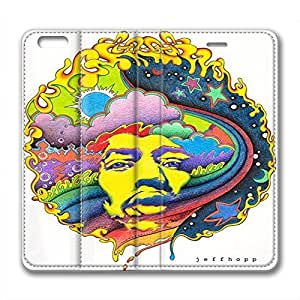 James Marshall Jimi Hendrix Design Iphone 6 Plus Leather Case Jeffhopp