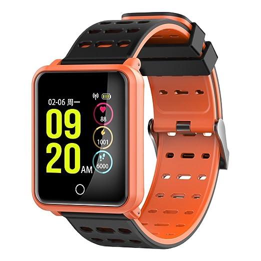 Reloj Inteligente Mujer Hombre Deporte, Harpily Monitor de Ritmo Cardíaco para la Presión Arterial Monitor