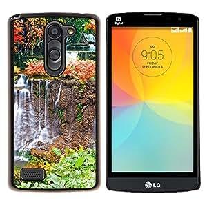 For LG L Prime D337 / L Bello D337 Case , Naturaleza Velero Mar- Diseño Patrón Teléfono Caso Cubierta Case Bumper Duro Protección Case Cover Funda
