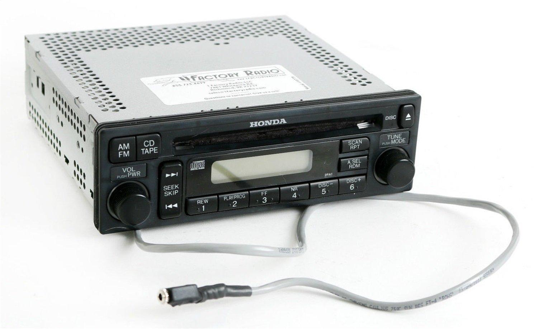 2001 Honda Accord Radio Code >> Amazon Com 1 Factory Radio Am Fm Cd Aux Input On Pigtail W Code
