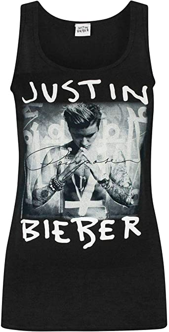 Justin Bieber Purpose Womens Vest