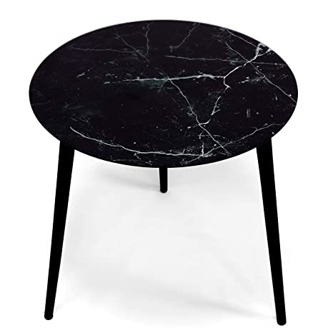 Jonas Round Table 50x50 Cm Three Legged Wooden Coffee Table