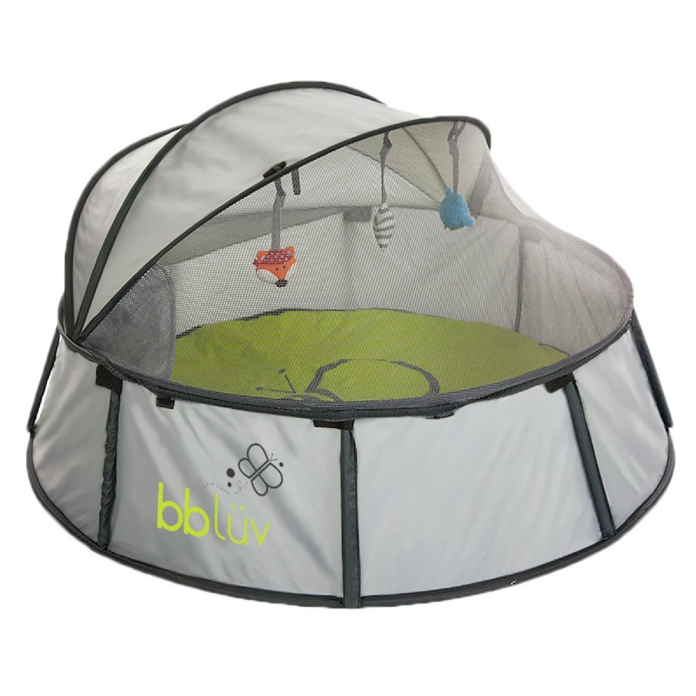 Amazon.com  bblüv - Nidö - 2-in-1 Travel u0026 Play Tent - Fun Tent with UV Protection for Infants and Toddlers  Baby  sc 1 st  Amazon.com : infant tent bed - memphite.com