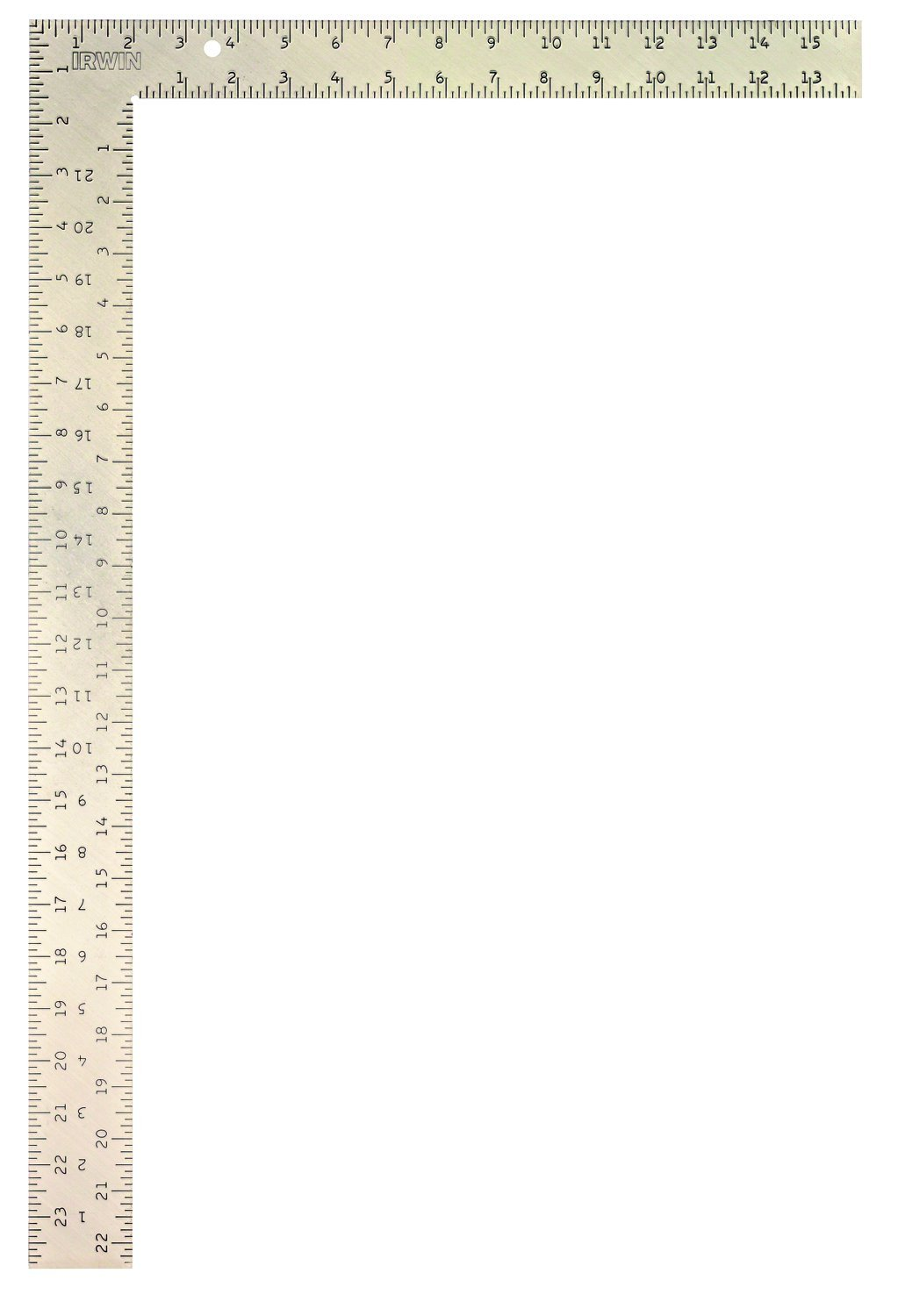 IRWIN Tools Carpenter Square, Steel, 16-Inch by 24-Inch (1794461)