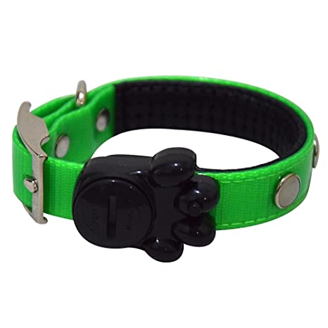 alxcio LED perro Collar de seguridad LED luz nocturna de mascotas ...