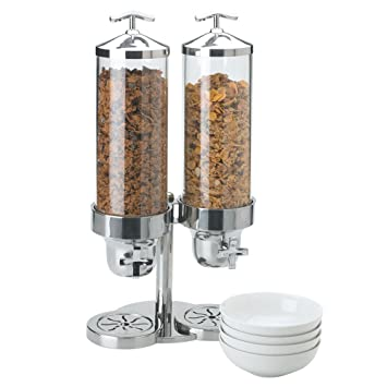 Vollrath 4635210 Somerville 4 Quart S/S doble dispensador de cereales: Amazon.es: Hogar