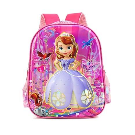 HLH Sophia Ice Barbie Estudiantes de Escuela Primaria y Secundaria Personajes 6D3D Niños Mochilas Escolares Mochila