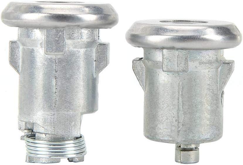 Qiilu Car Door Lock Cylinder and Key Fits for Camaro 654394765282