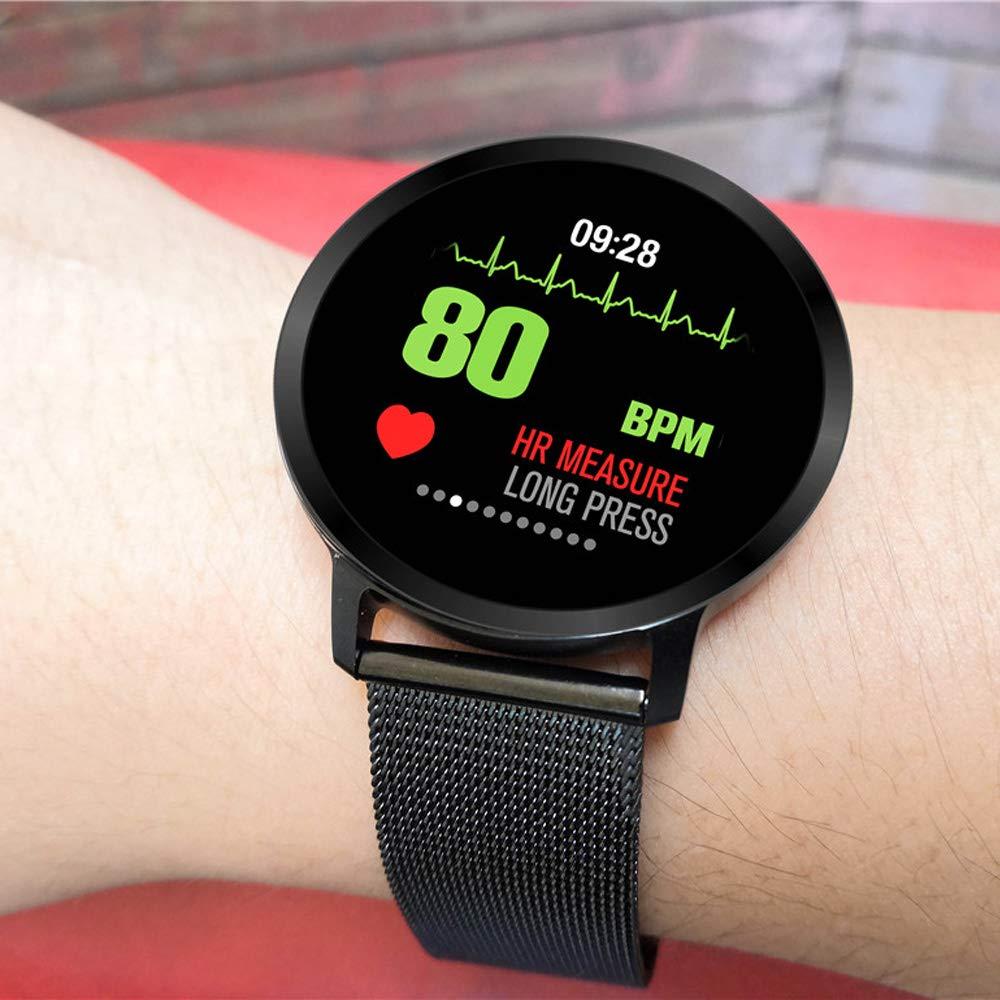 V11 Hombre Reloj Reloj Inteligente Actividad Rastreador De ...