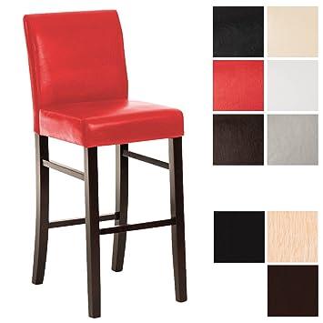 clp chaise de bar / tabouret de bar en bois alvin avec revêtement ... - Hauteur Chaise De Bar