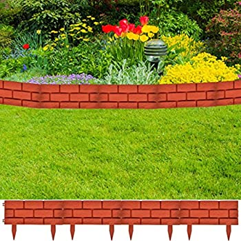 Amazon.com : Festnight Garden Edging Decorative Lawn ...
