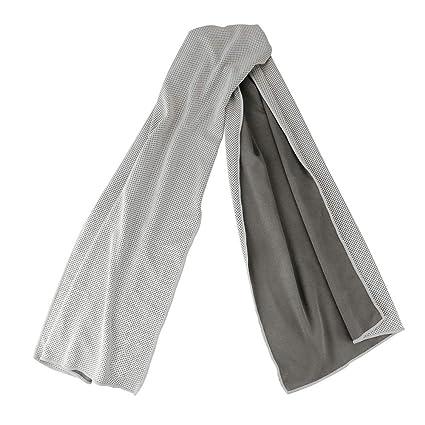 Jia Hu Toalla de Microfibra para refrigeración instantánea, Toallas de Hielo, Super absorbentes y