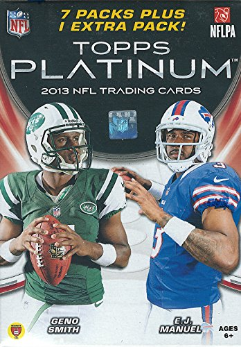 NFL 2013 Topps Platinum Blaster Trading Cards from Topps