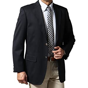 Stanley blacker スタンリーブラッカー ジャケット 紺ブレザー メンズ 216368 A体(標準) 6号(170-175)