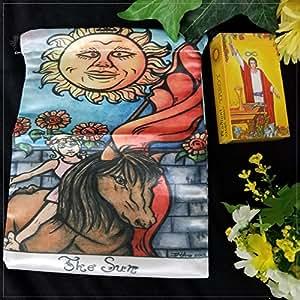 Tarot Deck with Sun Bag   Baralho Tarô com Sacolinha do Sol