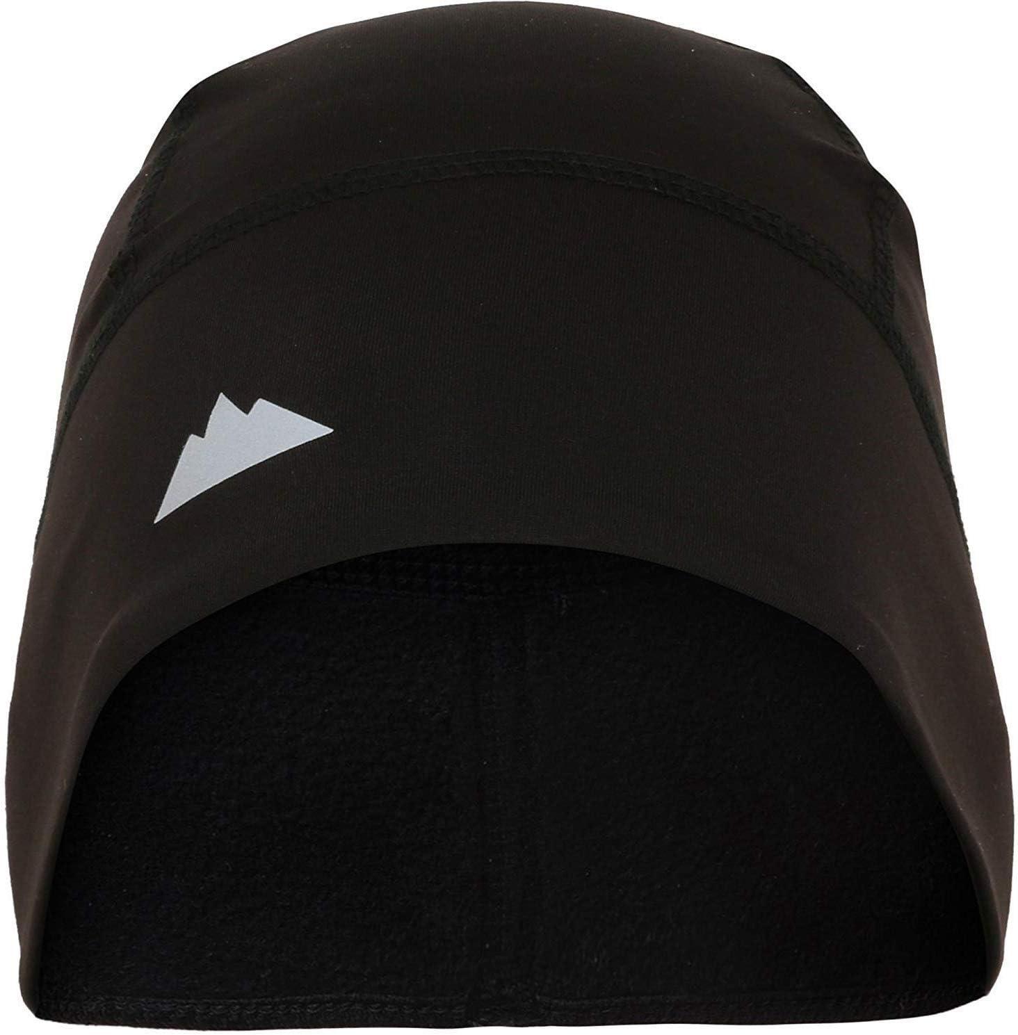 Rigide Headwear Tête de Mort Casquette/Casque Liner/Course Bonnet–Thermique Ultime rétention de la Performance Absorbe la Transpiration. Compatible avec sous Un Casque