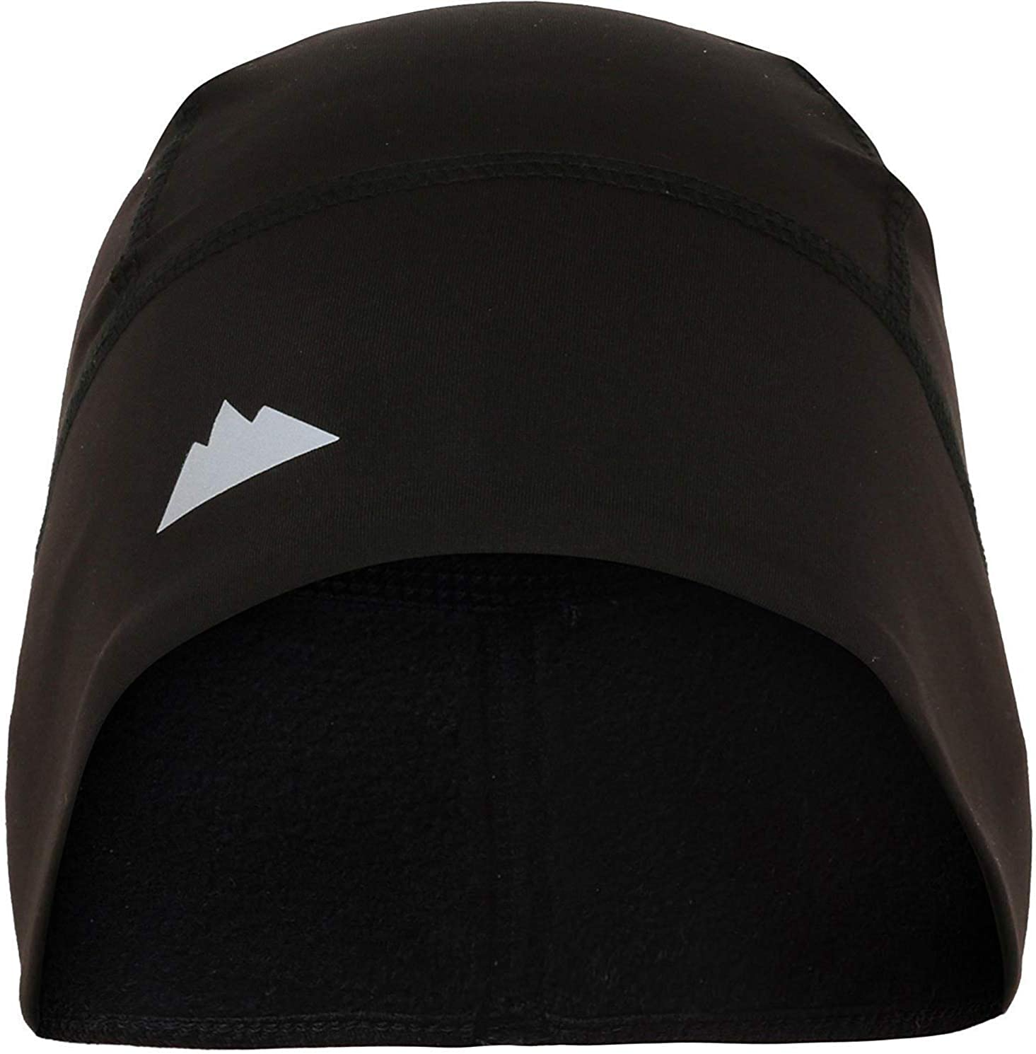 Skull Cap/Helmet Liner/Running Beanie - Ultimate Thermal Retention and Performance Moisture Wicking - Fits Under Helmets Black: Clothing