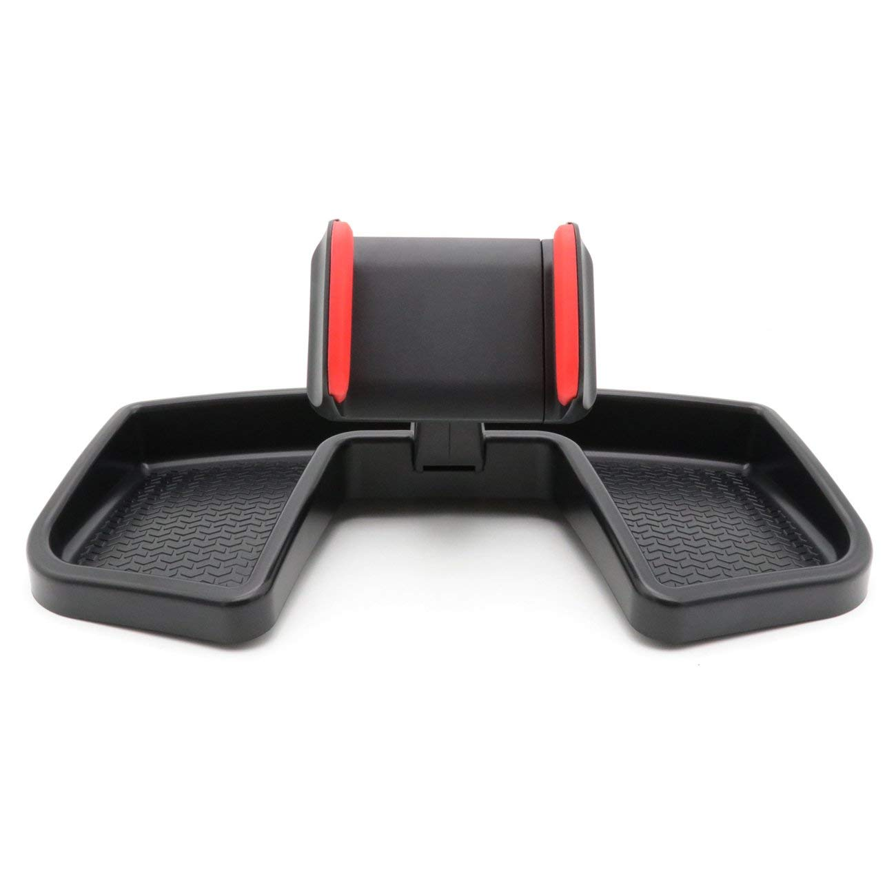 Red Dash Phone Holder GPS Mount Bracket for 2015-2017 Jeep Renegade by kkone