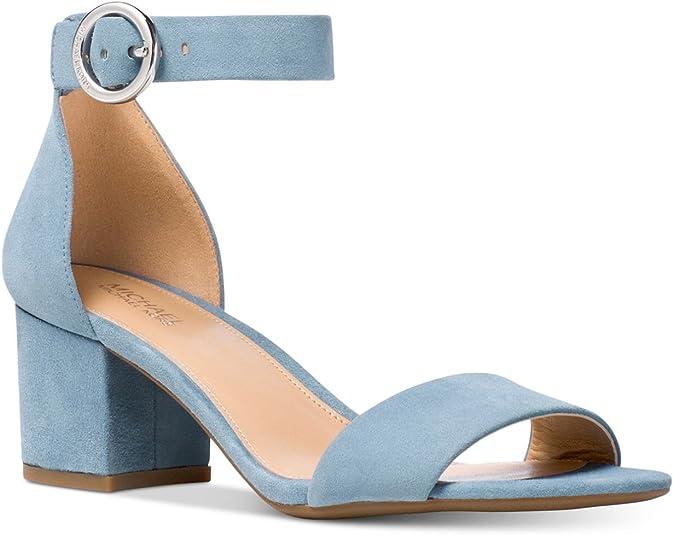 Lena Block Heel Pale Blue
