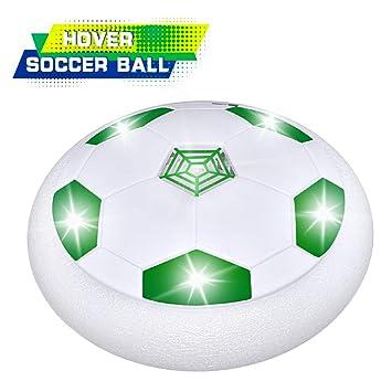Dreamingbox - Balón de fútbol con Luces LED para niños, Verde ...