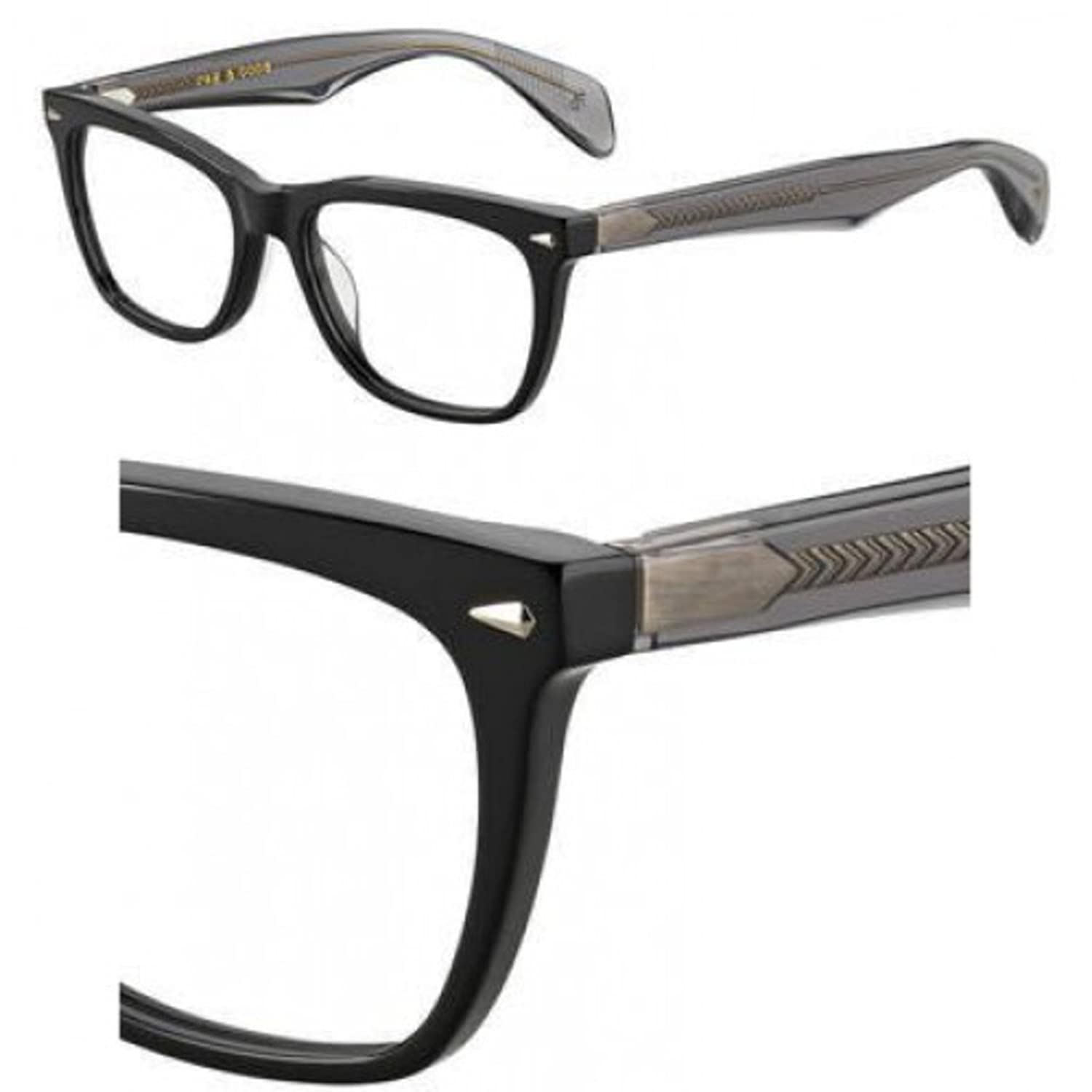 Eyeglasses Rag & Bone Rnb 3001 008A Black Gray