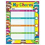 TREND enterprises, Inc. Sock Monkeys Chore Charts, pad of 25