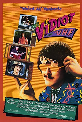Uhf Poster B Weird Al Yankovic Kevin McCarthy Victoria Jackson