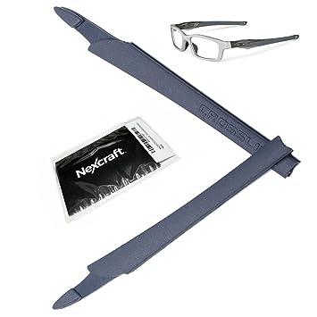 213b9562f6dc8d Kit de manchons de lunettes en caoutchouc Nexcraft compatibles avec les  montures Oakley Crosslink Pro,