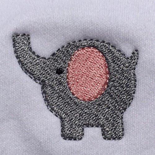 Elephant Onesie Baby Organic Cotton Tee 6-12 Months
