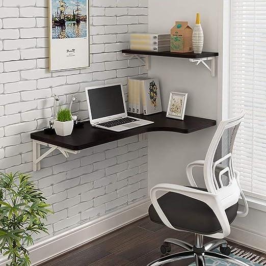 Escritorio de la computadora montado en la pared del hogar - Mesa ...