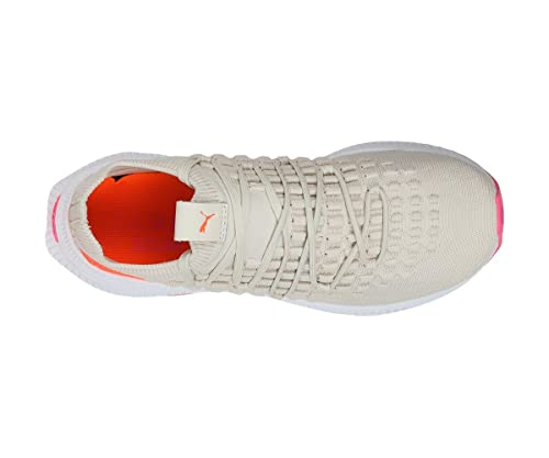 ddb88914317 Puma Unisex s AVID Fusefit Birch-Shocking Orange White Sneakers-7 UK India  (40.5 EU) (36724211)  Buy Online at Low Prices in India - Amazon.in