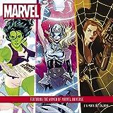 img - for Women of Marvel Wall Calendar (2017) book / textbook / text book