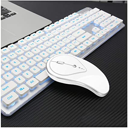 LQH Teclado Teclado inalámbrico y ratón inalámbricos Wireless ...