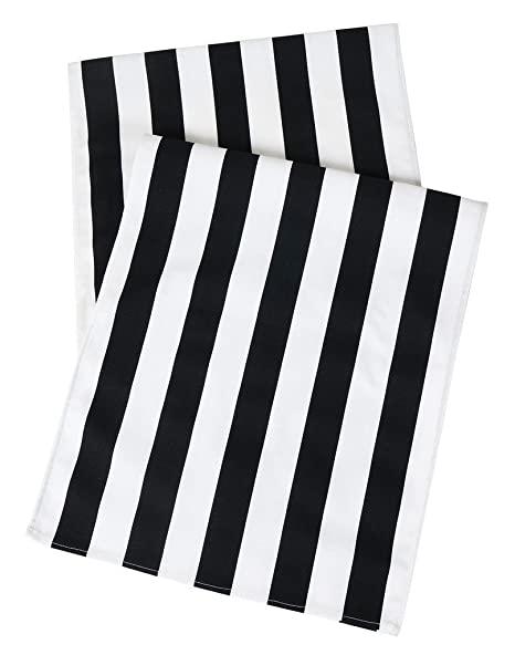 Amazoncom Table Runners Black And White Party Wedding Table Covers
