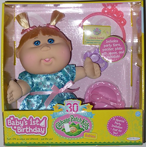 Cabbage Patch Kids Birthday Caucasian