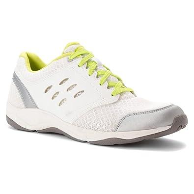 Vionic Womens Venture Active Lace Up Shoe White Size 5