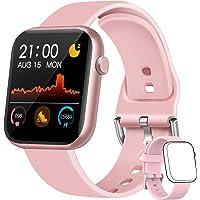 WWDOLL Smartwatch Mujer, 1.3 Pulgadas Reloj Inteligente Mujer, Reloj Deportivo con…