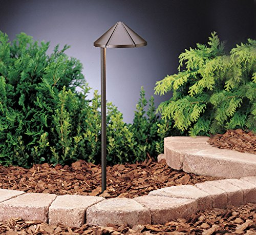 Groove Path & Spread 1-Light 12V, Textured Architectural Bronze ()