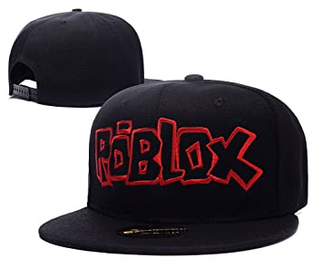 Huiy Roblox Logo Cap Embroidery Snapback Hat Amazoncouk Sports