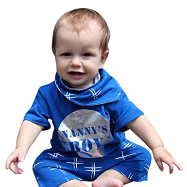 b4ed21063 Amazon.com  Sunward Newborn Baby Boys Girls Nanny s Boy Nanny s Girl ...