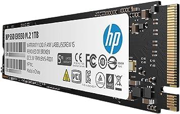 HP Hewlett Packard EX950 Disco Duro Interno SSD 1TB 5MS23AA ...