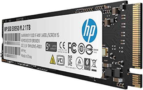 Hewlett Packard EX950 Disco Duro Interno SSD 1TB 5MS23AA ...