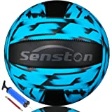 Senston Volleyball Waterproof Beach Soft Volleyball for Indoor/Outdoor Play, Game,Training Official Size 5